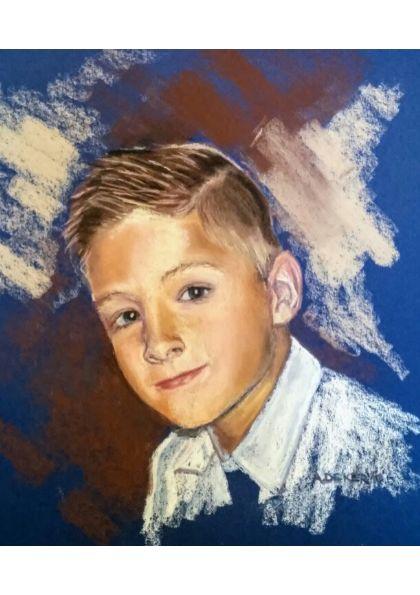 Portrety pastelowe Poznań na zamówienie