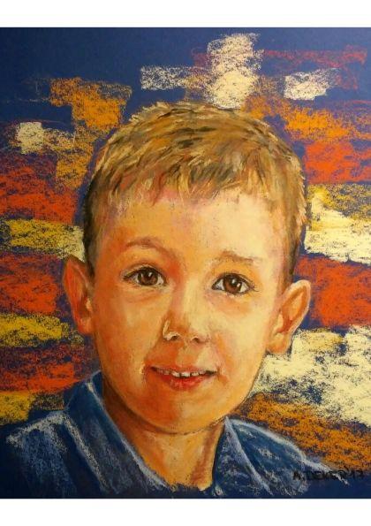 Portret chłopca na zamówienie Poznań