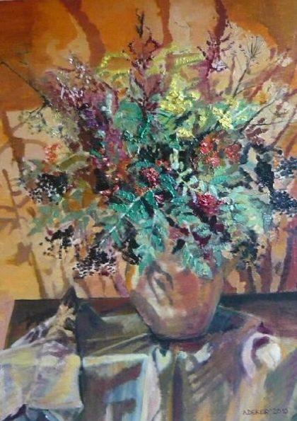 Obraz autorski - Kwiaty